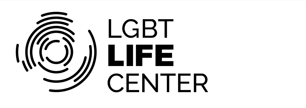 Lgbt Life Center logo black for light backgrounds