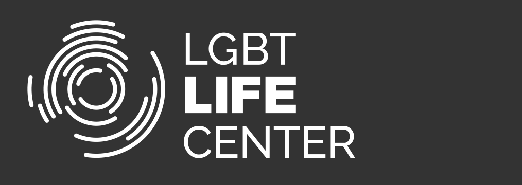 LGBT Life Center solid white