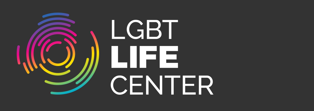 Lgbt Life Center color logo for dark backgrounds