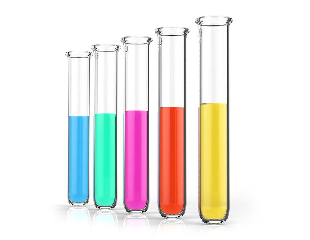 testing vials