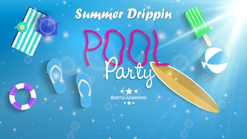 August Pool Party LGBTQ Events