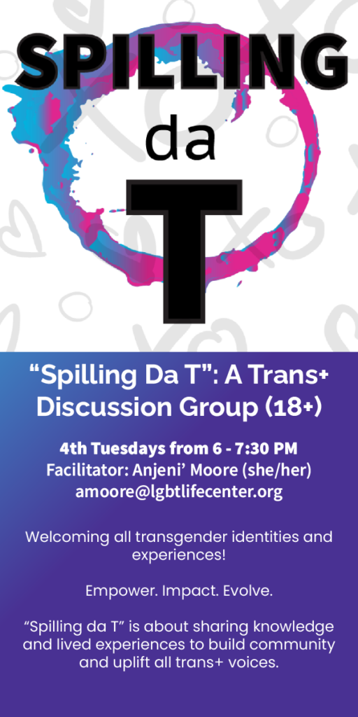 Spillind Da T Trans Social and Support Group